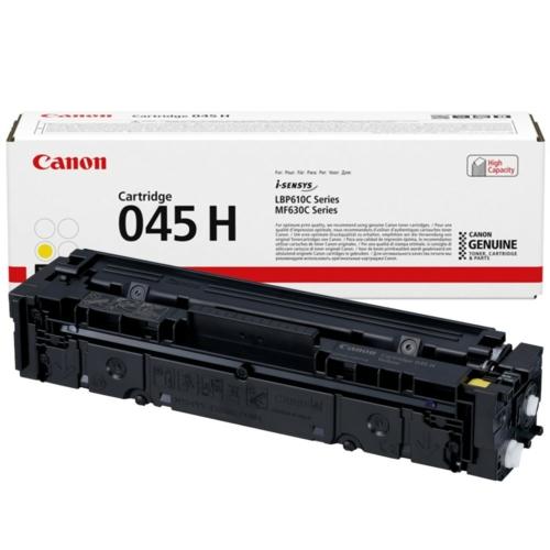 Canon CRG045H Toner Yellow /eredeti/ LBP611 2.200 oldal