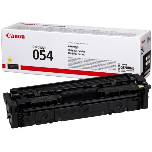 Canon CRG054 Toner Yellow 1,2K (EREDETI)