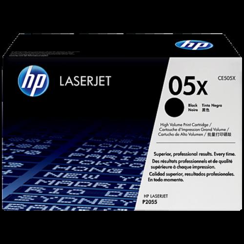 HP CE505X Toner High Black 6,5k No.05X (Eredeti)