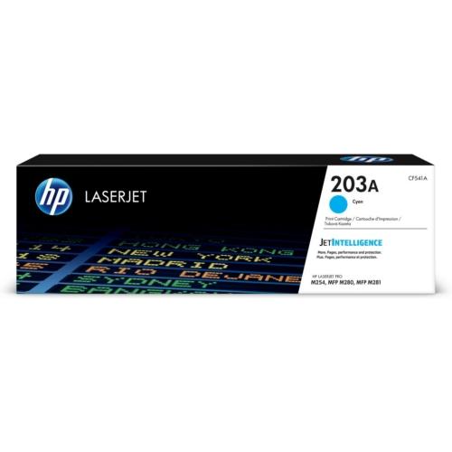 HP CF541A Toner Cyan 1,3k No.203A (Eredeti)