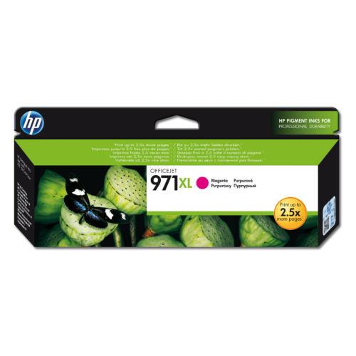 HP CN627AE Patron Magenta 6,6k No.971XL (Eredeti)